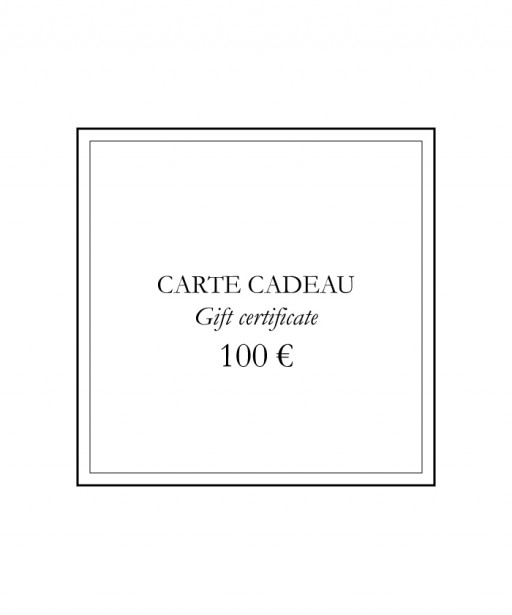 Gift certificate | 100 €